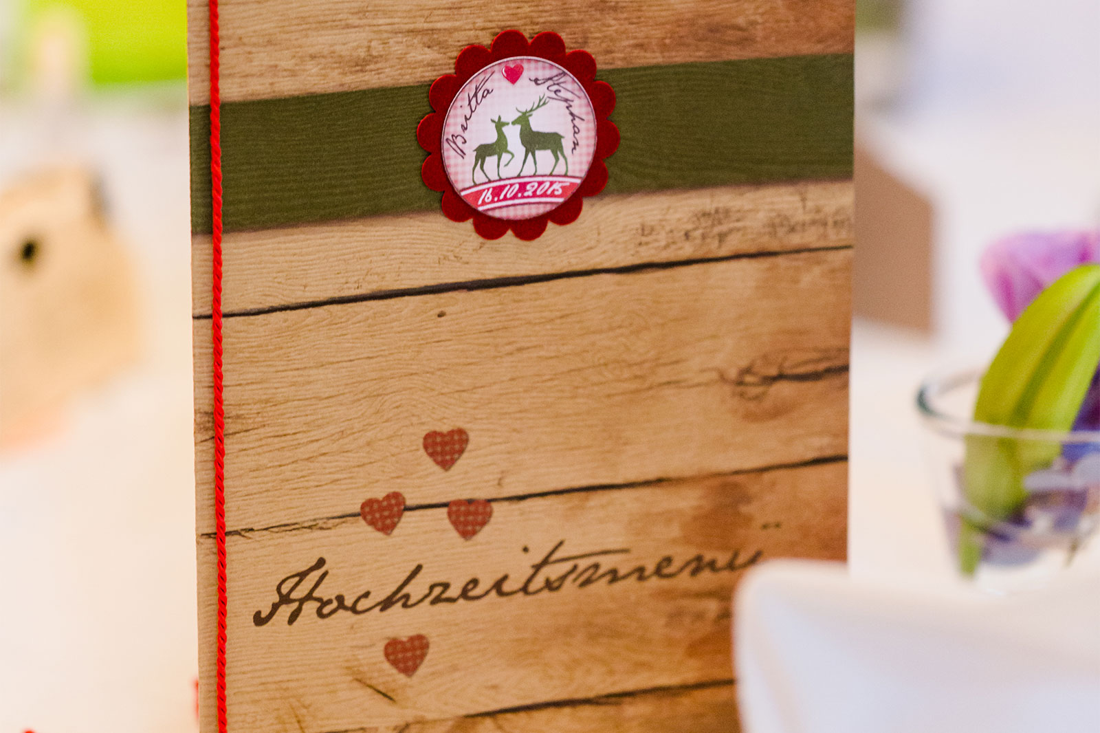 Tafelspitz & Tischkultur - Hochzeit Catering